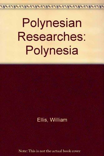 9780804804752: Polynesian Researches: Polynesia