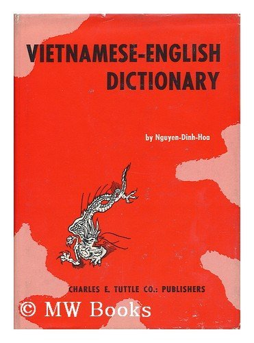 Vietnamese-English Dictionary (0804806187) by Nguyen Dinh-Hoa