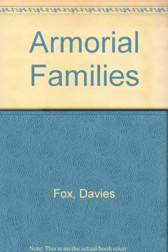 9780804807210: Armorial Families