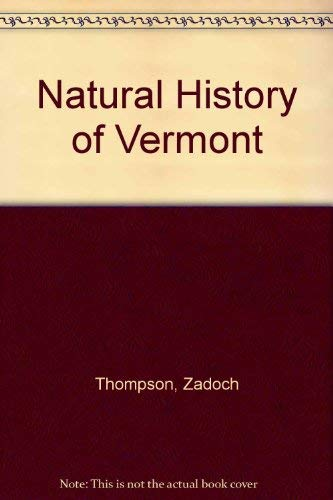 9780804809832: Natural History of Vermont
