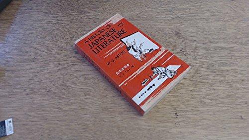 History of Japanese Literature: W. G. Aston