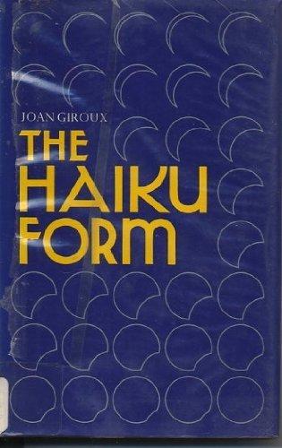 9780804811101: The Haiku Form