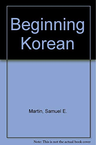 9780804815079: Beginning Korean
