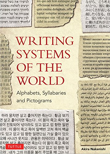 9780804816540: Writing Systems of the World: Alphabets, Syllabaries, Pictograms