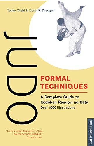 9780804816762: Judo Formal Techniques: A Complete Guide to Kodokan Randori No Kata (Tuttle Martial Arts)