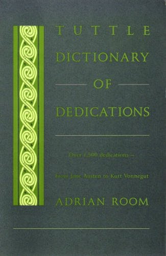 Tuttle Dictionary of Dedications