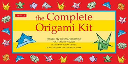 9780804818162: The Complete Origami Kit: Kit with 2 Origami How-to Books, 98 Papers, 30 Projects: This Easy Origami for Beginners Kit is Great for Both Kids and Adults (Crafts)