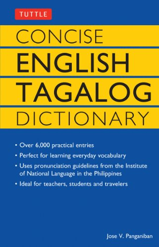 9780804819626: Concise English Tagalog Dictionary /Anglais (Tuttle Language Library)