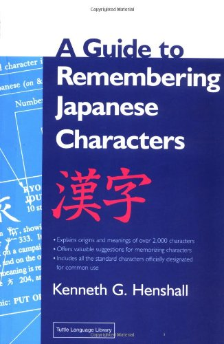9780804820387: A Guide to Remembering Japanese Characters