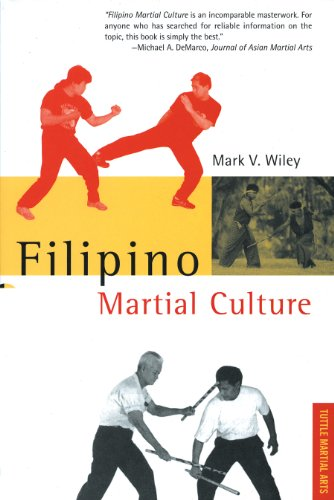 9780804820882: Filipino Martial Culture (Martial Culture Series)