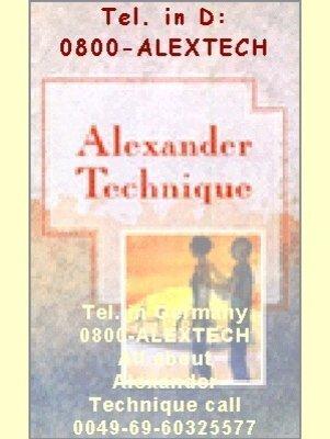 9780804830065: Alexander Technique (Alternative Health)