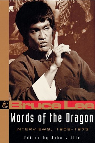9780804831338: Words of the Dragon: Interviews, 1958-1973 (Bruce Lee Library)