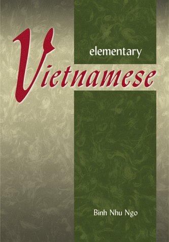 9780804832076: Elementary Vietnamese