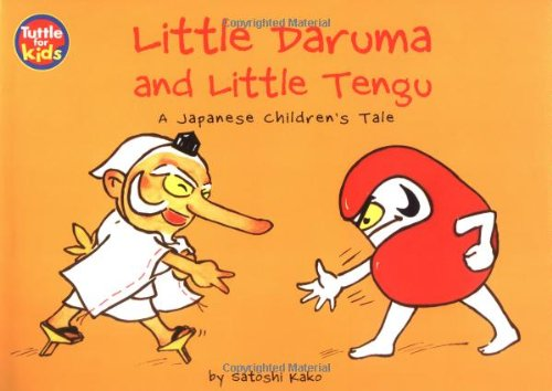 9780804833479: Little Daruma & Little Tengu: A Japanese Children's Tale