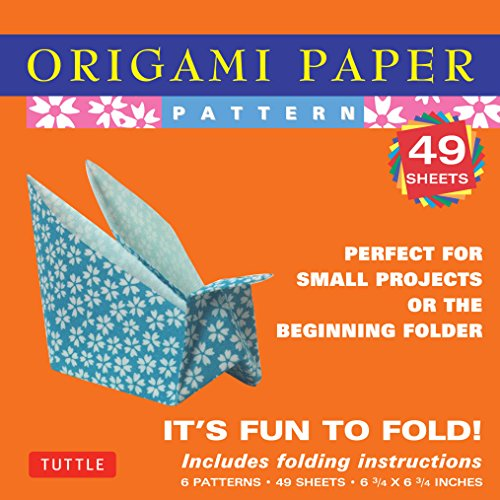 9780804835251: Origami Paper - Patterns - Small 6 3/4