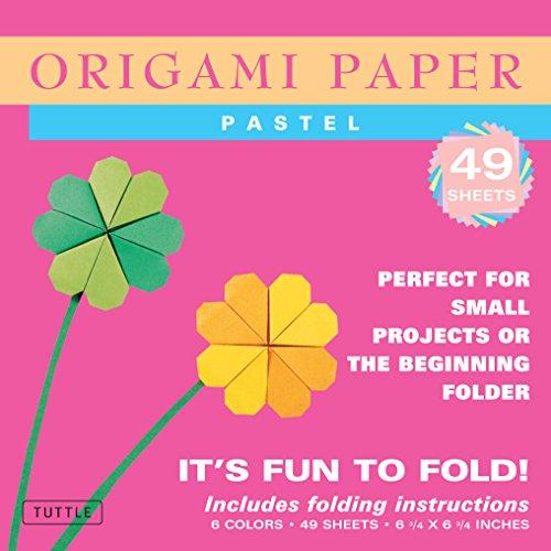 Origami Paper Pastel