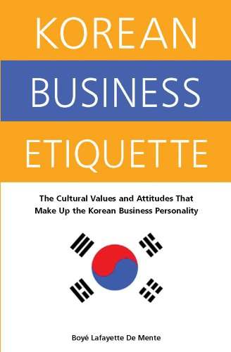 9780804835824: Korean Business Etiquette: The Cultural Values and Attitudes That Make Up the Korean Business Personality