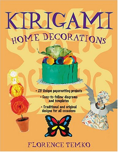 9780804836074: Kirigami Home Decorations