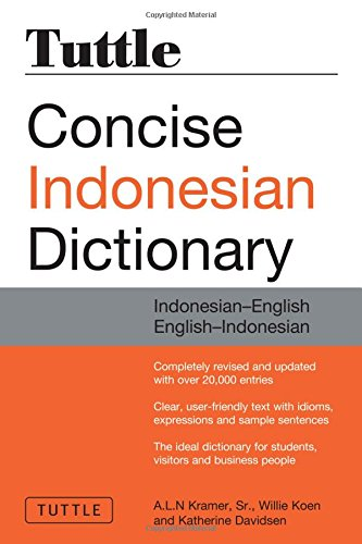 9780804837330: TUTTLE CONCISE INDONESIAN DICT: Indonesian-English English-Indonesian (Dictionary)