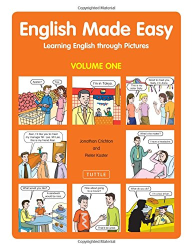 9780804837361: English Made Easy: Learning English Through Pictures