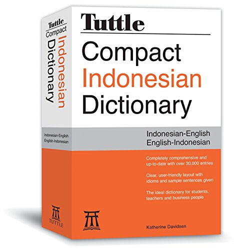 9780804837408: Tuttle Compact Indonesian Dictionary