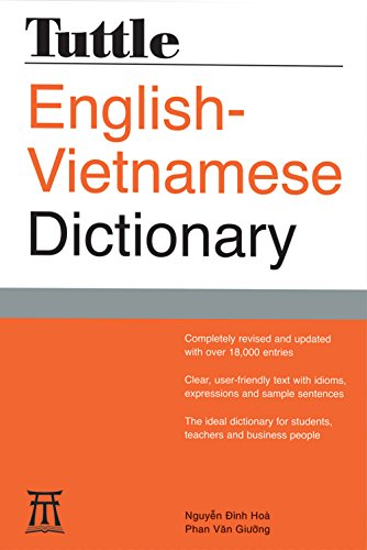 Tuttle English-Vietnamese Dictionary (Tuttle Reference Dic) (0804837422) by Hoa, Nguyen Dinh; Giuong, Phan Van
