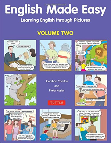 9780804837453: English Made Easy, Volume Two: Learning English Through Pictures: v. 2