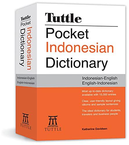 Tuttle Pocket Indonesian Dictionary: Indonesian-English English-Indonesian: Katherine Davidsen