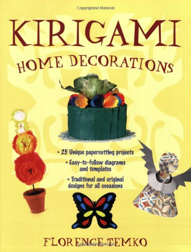 9780804837934: Kirigami Home Decorations