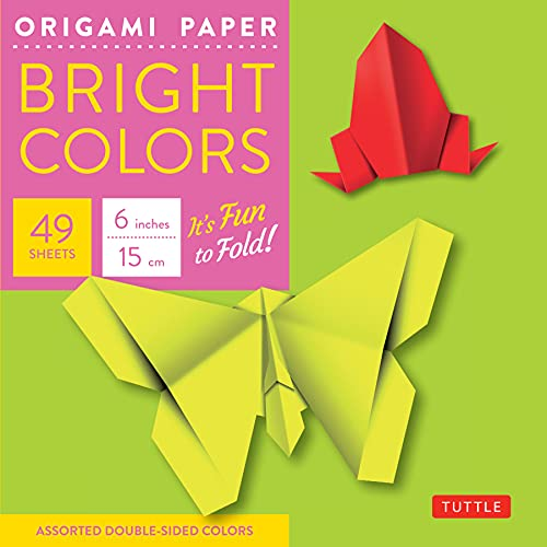 9780804837972: Origami Paper - Bright Colors - 6