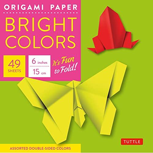 9780804837972: Origami Paper Bright 6