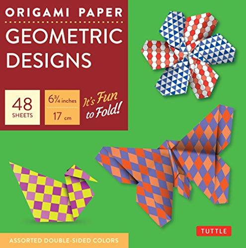 9780804837996: Origami Paper Geometric Prints: 48 Sheets