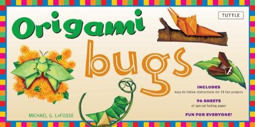 9780804838061: Origami Bugs Folded Kit