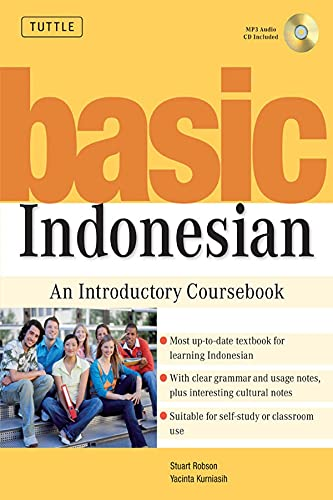 9780804838962: Basic Indonesian: An Introductory Coursebook (MP3 Audio CD Included)
