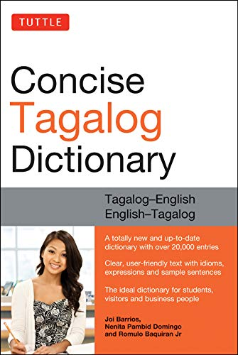 9780804839143: Tuttle Concise Tagalog Dictionary: Tagalog-English English-Tagalog (over 20,000 entries)