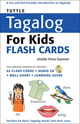 9780804839570: Tuttle Tagalog for Kids Flash Cards [With CD (Audio)] (Tuttle Flash Cards)