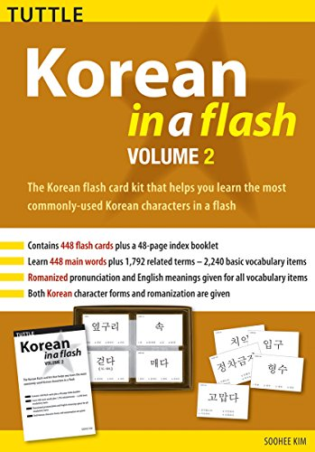 9780804839969: Korean in a Flash Kit Volume 2 (Tuttle Flash Cards)