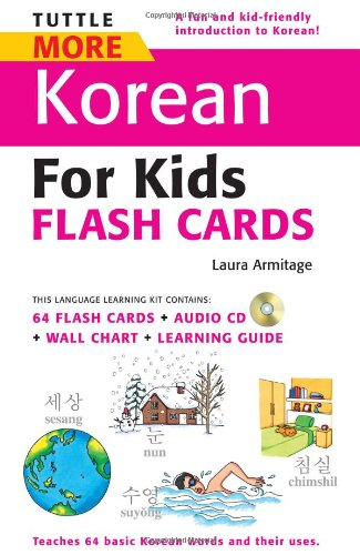 9780804840101: Tuttle More Korean for Kids Flash Cards