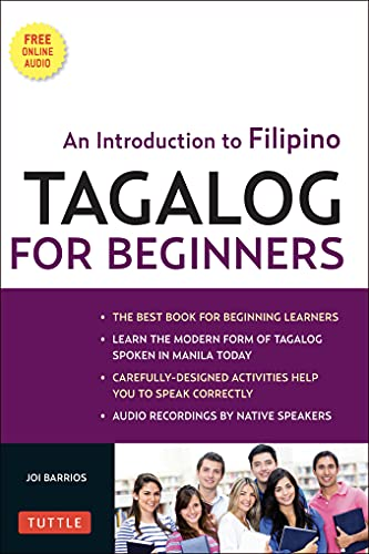 9780804841269: Tagalog for Beginners: An Introduction to Filipino, the National Language of the Philippines [With MP3]