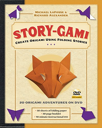9780804841344: Story-Gami Kit: Create Origami Using Folding Stories [Origami Kit with Book, DVD, 80 Papers, 18 Projects]