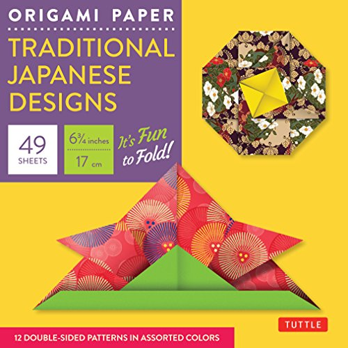 9780804841894: Origami Paper - Traditional Japanese Designs - Small 6 3/4