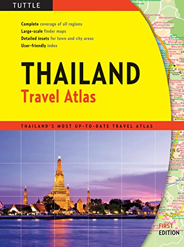 Thailand Travel Atlas: Periplus Editors [Editor]