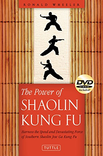 9780804841948: The Power of Shaolin Kung Fu: Harness the Speed and Devastating Force of Southern Shaolin Jow Ga Kung Fu [DVD Included]