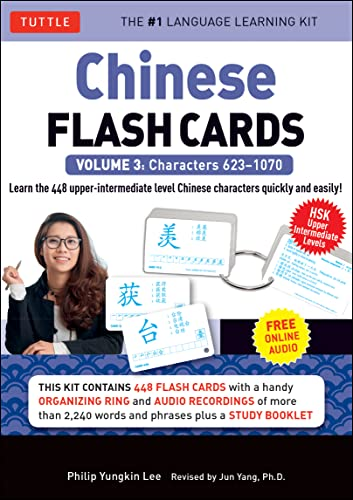 9780804842037: Chinese Flash Cards Kit Volume 3: HSK Upper Intermediate Level (Audio CD Included)