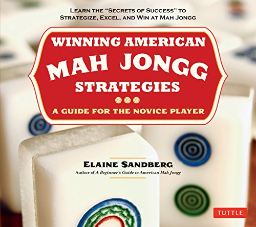 9780804842341: Winning American Mah Jongg Strategies: A Guide for the Novice Player -Learn the