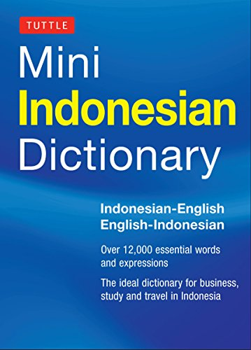 9780804842907: Tuttle Mini Indonesian Dictionary: Indonesian-English/English-Indonesian