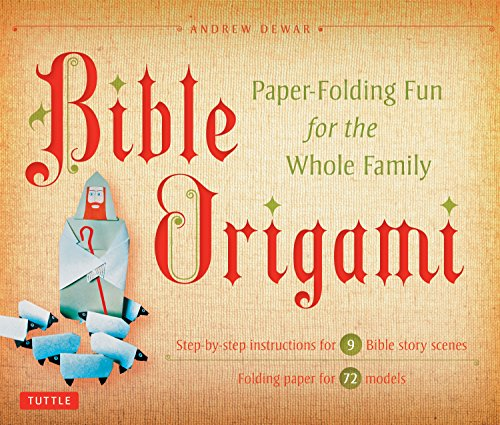9780804843065: Bible Origami Kit: Paper-Folding Fun for the Whole Family!