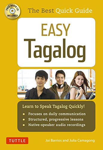 9780804843140: Easy Tagalog: Learn to Speak Tagalog Quickly (CD-ROM Included)