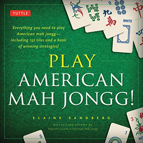 9780804843195: Play American Mah Jongg! Kit: Everything you need to Play American Mah Jongg (includes instruction book and 152 playing cards)