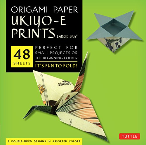 9780804843393: Origami Paper Floating World Prints, Large 8 1/4